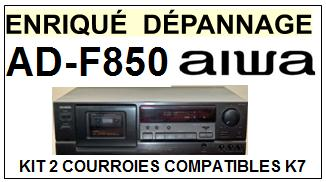 AIWA-ADF850 AD-F850-COURROIES-COMPATIBLES