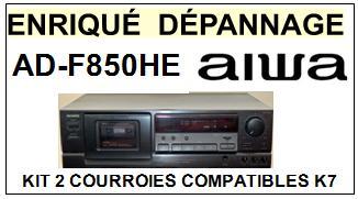 AIWA-ADF850HE AD-F850HE-COURROIES-COMPATIBLES