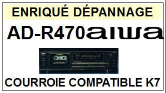 AIWA-ADR470 AD-R470-COURROIES-ET-KITS-COURROIES-COMPATIBLES