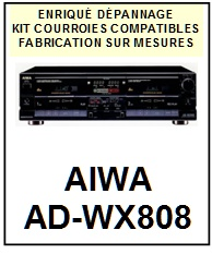 AIWA-ADWX808 AD-WX808-COURROIES-ET-KITS-COURROIES-COMPATIBLES