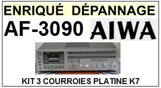 AIWA-AF3090 AF-3090-COURROIES-ET-KITS-COURROIES-COMPATIBLES