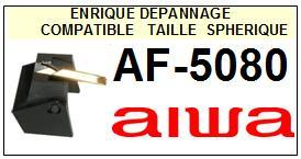 AIWA Platine  AF5080  AF-5080  Pointe de lecture Compatible diamant sphérique