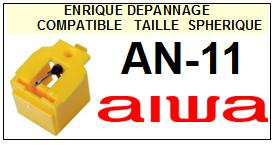 AIWA<br> AN11 AN-11 Pointe Diamant Elliptique <br><small>sc 2015-03</small>