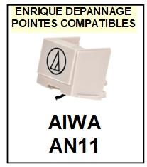 AIWA-AN11-POINTES-DE-LECTURE-DIAMANTS-SAPHIRS-COMPATIBLES