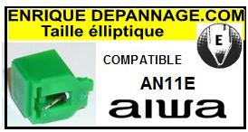 AIWA AN11E  <br>Pointe Diamant Elliptique (stylus)<small> 2015-11</small>