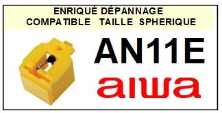 AIWA AN11E  <br>Pointe Diamant sphérique (stylus)<small> 2015-11</small>