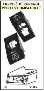 AIWA-AN70D AN-70D-POINTES-DE-LECTURE-DIAMANTS-SAPHIRS-COMPATIBLES