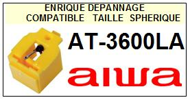 AIWA-AT3600LA AT-3600-LA-POINTES-DE-LECTURE-DIAMANTS-SAPHIRS-COMPATIBLES