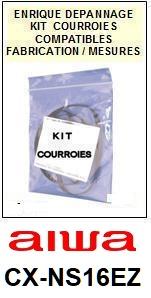 AIWA-CXNS16EZ CX-NS16EZ-COURROIES-ET-KITS-COURROIES-COMPATIBLES