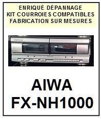 AIWA-FXNH1000 FX-NH1000-COURROIES-ET-KITS-COURROIES-COMPATIBLES