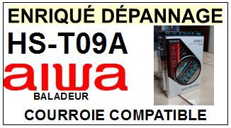AIWA-HST09A HS-T09A-COURROIES-ET-KITS-COURROIES-COMPATIBLES