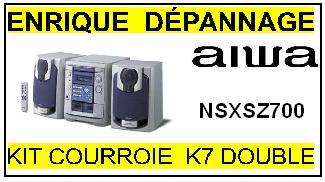AIWA-NSXSZ700-COURROIES-ET-KITS-COURROIES-COMPATIBLES