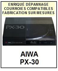 AIWA-PX30 PX-30-COURROIES-ET-KITS-COURROIES-COMPATIBLES