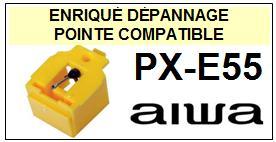 AIWA Platine PXE55 PX-E55 Pointe diamant sphérique <BR><small>sce 2014-08</small>