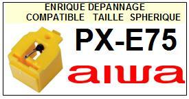 AIWA-PXE75  PX-E75-POINTES-DE-LECTURE-DIAMANTS-SAPHIRS-COMPATIBLES