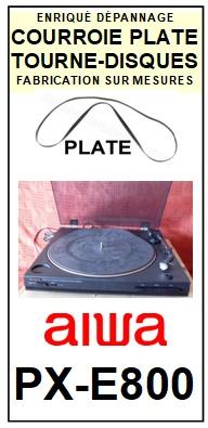 AIWA-PXE800 PX-E800-COURROIES-ET-KITS-COURROIES-COMPATIBLES
