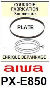 AIWA-PXE850E PX-E850E-COURROIES-ET-KITS-COURROIES-COMPATIBLES