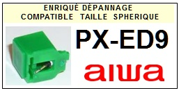 AIWA-PXED9-POINTES-DE-LECTURE-DIAMANTS-SAPHIRS-COMPATIBLES