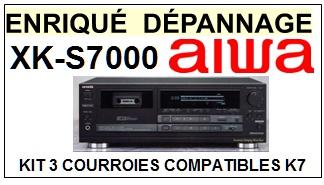 AIWA-XKS7000 XK-S7000-COURROIES-ET-KITS-COURROIES-COMPATIBLES