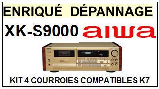 AIWA-XKS9000 XK-S9000-COURROIES-ET-KITS-COURROIES-COMPATIBLES