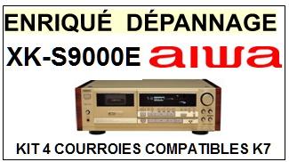 AIWA-XKS9000E XK-S9000E-COURROIES-ET-KITS-COURROIES-COMPATIBLES