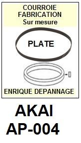 AKAI-AP004 AP-004-COURROIES-ET-KITS-COURROIES-COMPATIBLES