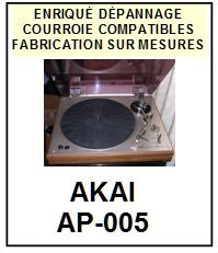 AKAI-AP005 AP-005-COURROIES-ET-KITS-COURROIES-COMPATIBLES
