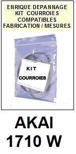 AKAI-1710W-COURROIES-COMPATIBLES