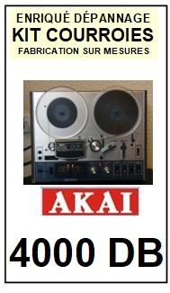AKAI-4000DB-COURROIES-COMPATIBLES