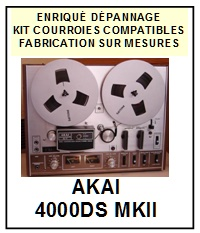 AKAI-4000DSMKII 4000DS MKII-COURROIES-ET-KITS-COURROIES-COMPATIBLES