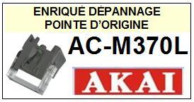 AKAI platine  ACM370L  AC-M370L  Pointe de lecture d Origine diamant sphérique