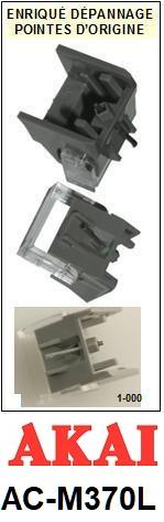 AKAI-ACM370L AC-M370L-POINTES-DE-LECTURE-DIAMANTS-SAPHIRS-COMPATIBLES