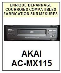 AKAI-ACMX115 AC-MX115-COURROIES-ET-KITS-COURROIES-COMPATIBLES