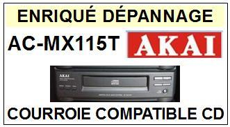 AKAI-ACMX115T AC-MX115T-COURROIES-ET-KITS-COURROIES-COMPATIBLES