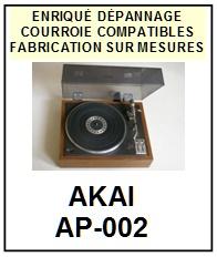 AKAI-AP002 AP-002-COURROIES-ET-KITS-COURROIES-COMPATIBLES