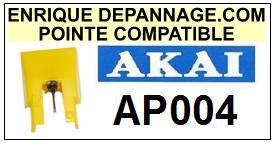 AKAI-AP004  AP-004-POINTES-DE-LECTURE-DIAMANTS-SAPHIRS-COMPATIBLES