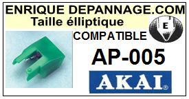 AKAI-AP005 AP-005-POINTES-DE-LECTURE-DIAMANTS-SAPHIRS-COMPATIBLES