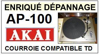 AKAI-AP100 AP-100-COURROIES-ET-KITS-COURROIES-COMPATIBLES