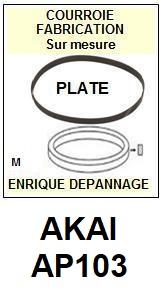 AKAI-AP103 AP-103-COURROIES-ET-KITS-COURROIES-COMPATIBLES