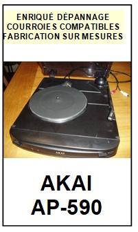 AKAI-AP590 AP-590-COURROIES-ET-KITS-COURROIES-COMPATIBLES
