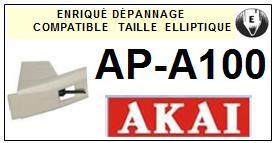 AKAI-APA100 AP-A100-POINTES-DE-LECTURE-DIAMANTS-SAPHIRS-COMPATIBLES