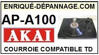 AKAI-APA100 AP-A100-COURROIES-ET-KITS-COURROIES-COMPATIBLES