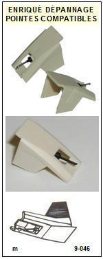 AKAI Platine APA100 AP-A100 Pointe diamant elliptique <small>13-07</small>