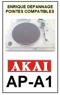 AKAI-APA1 AP-A1-POINTES-DE-LECTURE-DIAMANTS-SAPHIRS-COMPATIBLES
