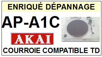 AKAI-APA1C AP-A1C-COURROIES-ET-KITS-COURROIES-COMPATIBLES