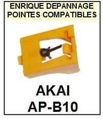AKAI APB10 AP-B10 <br>Pointe sphérique pour tourne-disques (<B>sphérical stylus</b>)<SMALL> 2017-01</SMALL>