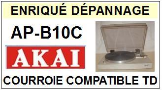AKAI-APB10C AP-B10C-COURROIES-COMPATIBLES