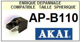 AKAI-APB110  AP-B110-POINTES-DE-LECTURE-DIAMANTS-SAPHIRS-COMPATIBLES