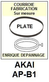 AKAI-APB1 AP-B1-COURROIES-ET-KITS-COURROIES-COMPATIBLES