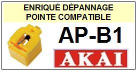 AKAI-APB1  AP-B1-POINTES-DE-LECTURE-DIAMANTS-SAPHIRS-COMPATIBLES